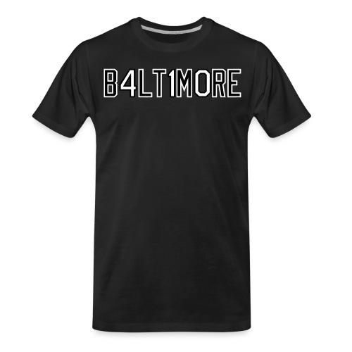 B4LT1M0RE - Men's Premium Organic T-Shirt