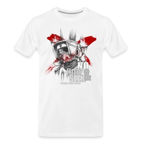 No hide & Seek - Men's Premium Organic T-Shirt