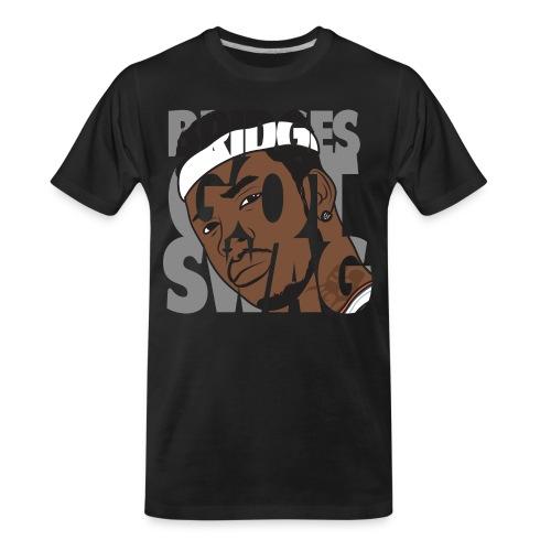 Men's Hoodie - #BridgesGotSwag - Men's Premium Organic T-Shirt
