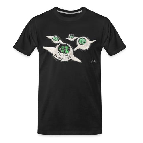 Tours of Planet Stupid - Men's Premium Organic T-Shirt