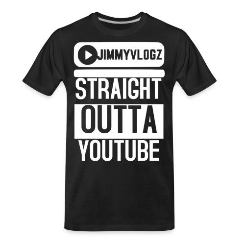 Straight Outta YouTube Merch! - Men's Premium Organic T-Shirt
