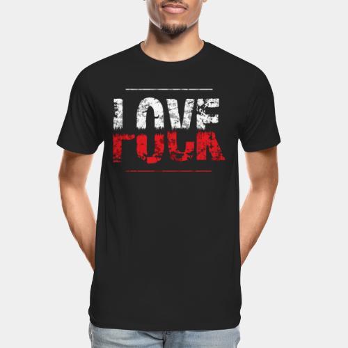 love lovers lover - Men's Premium Organic T-Shirt
