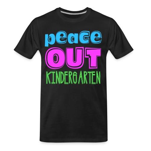 Kreative In Kinder Peace Out - Men's Premium Organic T-Shirt