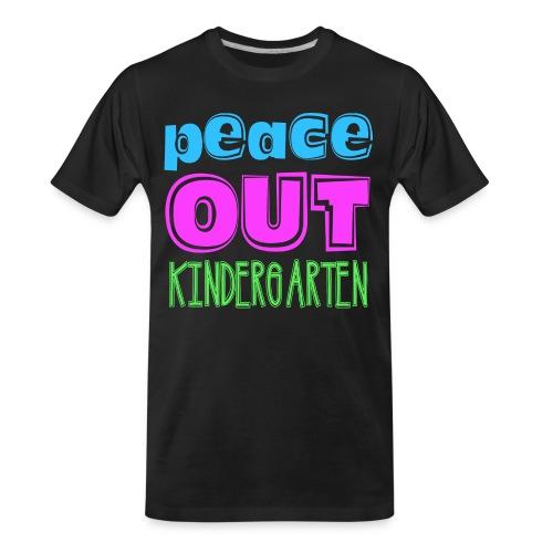 Kreative In Kinder Peace Out - Men's Premium Organic T-Shirt