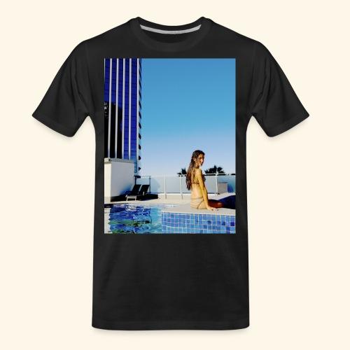 model in paradise - Men's Premium Organic T-Shirt