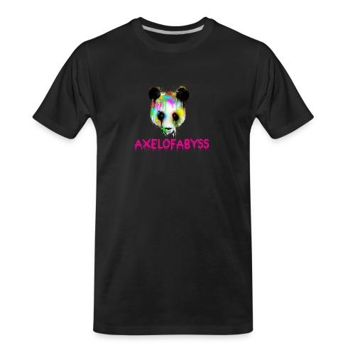Axelofabyss panda panda paint - Men's Premium Organic T-Shirt