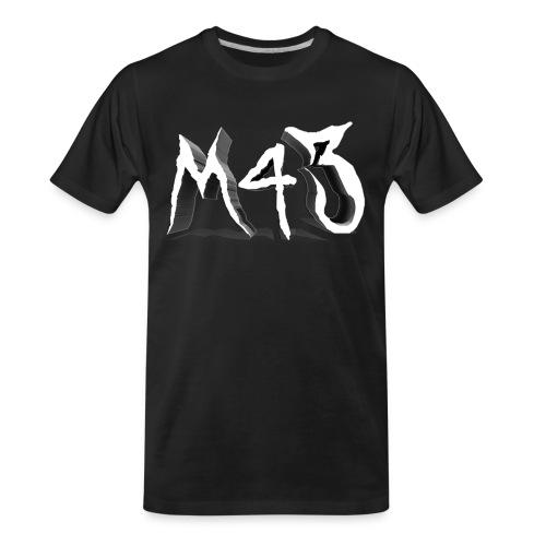 M43 Logo 2018 - Men's Premium Organic T-Shirt