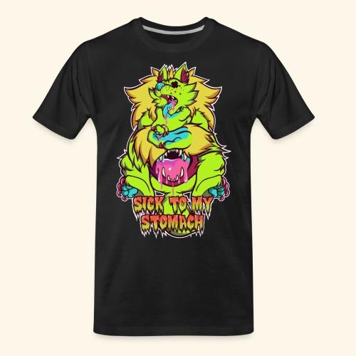 - Sick To My Stomach - - Men's Premium Organic T-Shirt