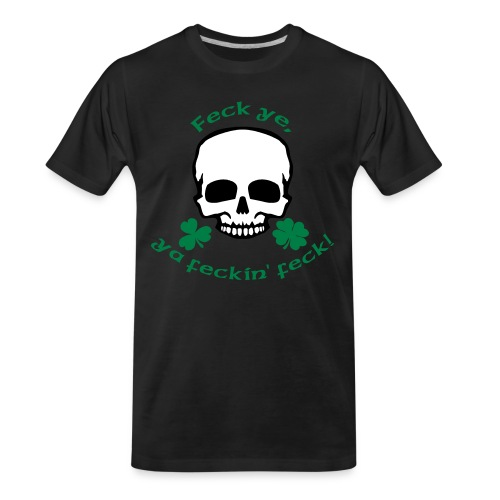 feckinfeck - Men's Premium Organic T-Shirt
