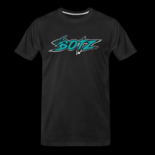BOTZ Teal Logo - Men's Premium Organic T-Shirt