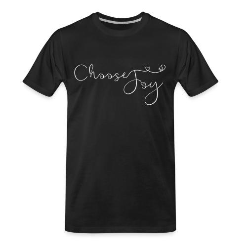Choose Joy - Men's Premium Organic T-Shirt