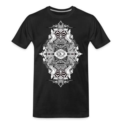 Eternal Voyage III - B&W - Men's Premium Organic T-Shirt