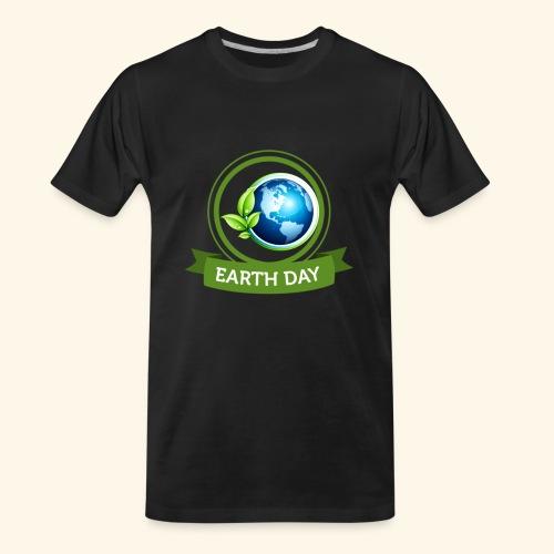 Happy Earth day - 3 - Men's Premium Organic T-Shirt