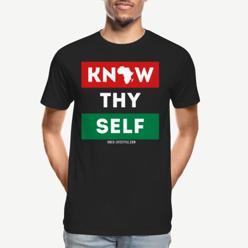 Know Thy Self - Men's Premium Organic T-Shirt