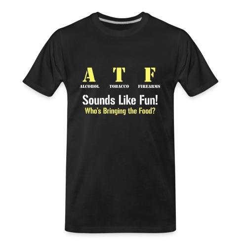 ATF Shirt - Men's Premium Organic T-Shirt