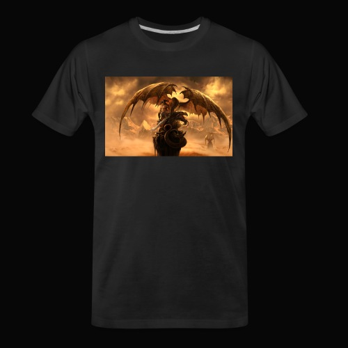 Dragon féroce - Men's Premium Organic T-Shirt