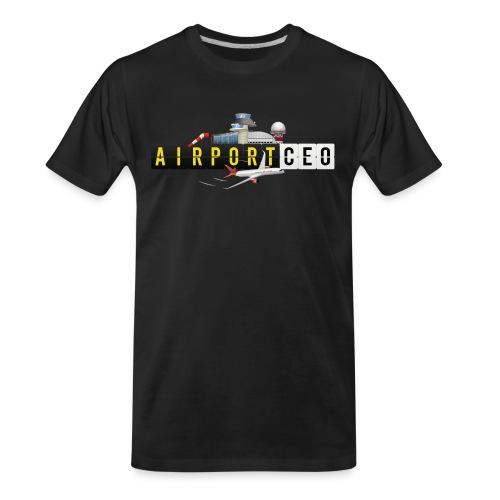 The Airport CEO - Men's Premium Organic T-Shirt
