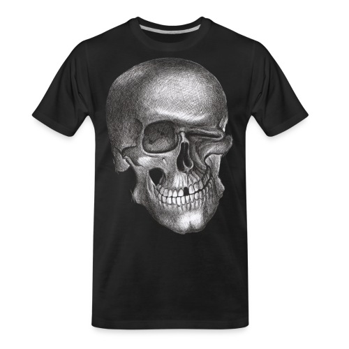 twinkle skull - Men's Premium Organic T-Shirt