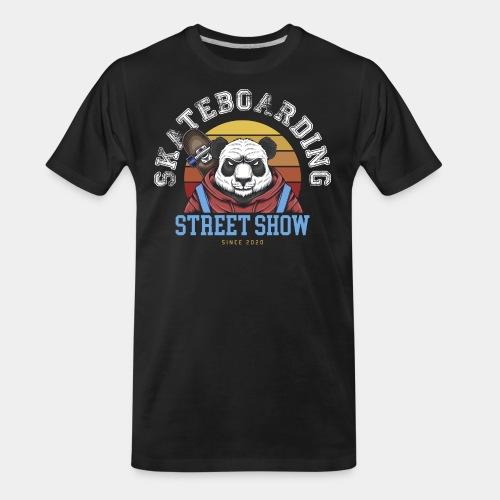 skateboard sk8 - Men's Premium Organic T-Shirt
