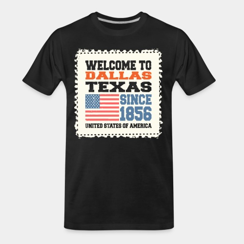 dallas texas usa - Men's Premium Organic T-Shirt