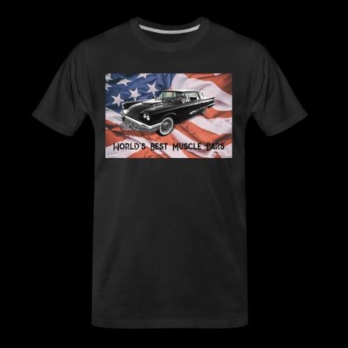 World's Best Muscle Cars - Men's Premium Organic T-Shirt