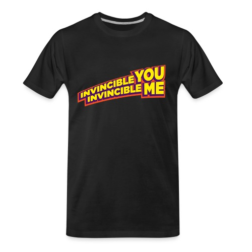 Invincible You, Invincible Me - Men's Premium Organic T-Shirt
