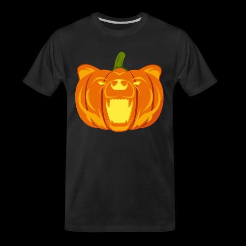 Pumpkin Bear - Men's Premium Organic T-Shirt