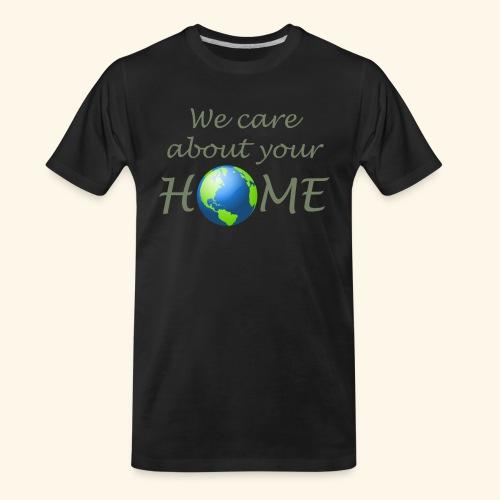 Happy Earth day - Men's Premium Organic T-Shirt