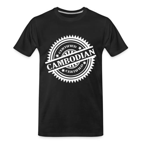 Women's Certified Cambodian - Men's Premium Organic T-Shirt