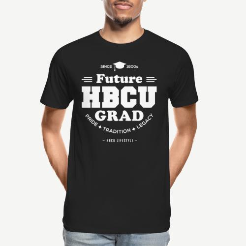Future HBCU Grad Youth - Men's Premium Organic T-Shirt