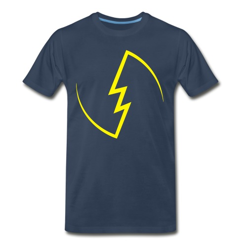 Electric Spark - Men's Premium Organic T-Shirt