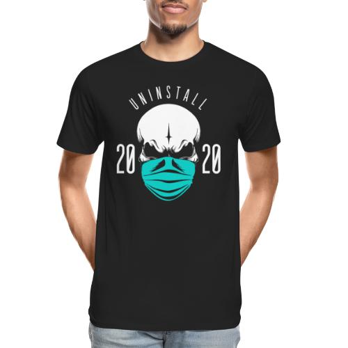 uninstall 2020 - Men's Premium Organic T-Shirt