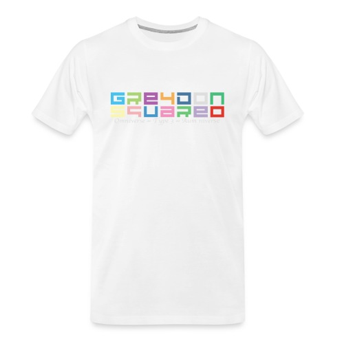 colorfulLOGO2 png - Men's Premium Organic T-Shirt