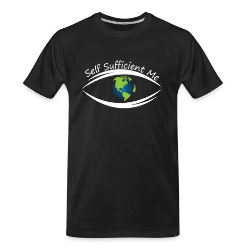 Self Sufficient Me Logo Large - Men's Premium Organic T-Shirt