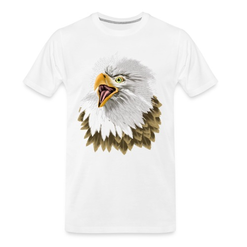 Big, Bold Eagle - Men's Premium Organic T-Shirt