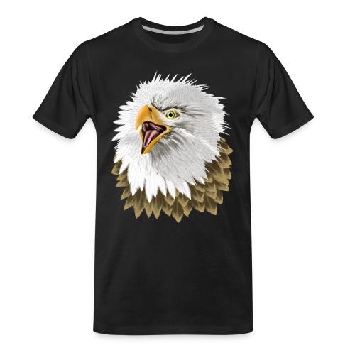 Big, Bold Eagle - Men's Premium Organic T-Shirt