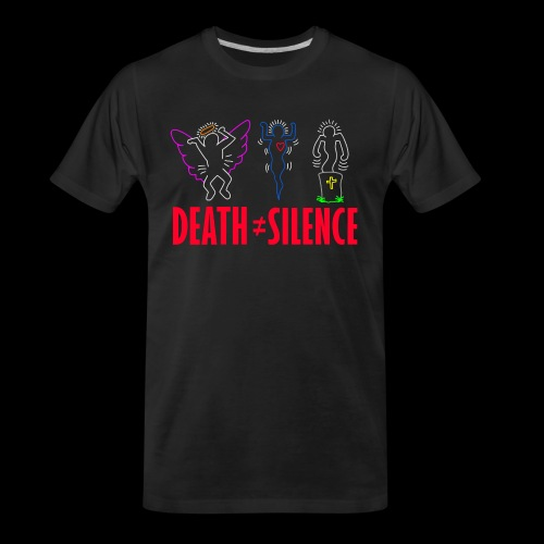 Death Does Not Equal Silence - Men's Premium Organic T-Shirt