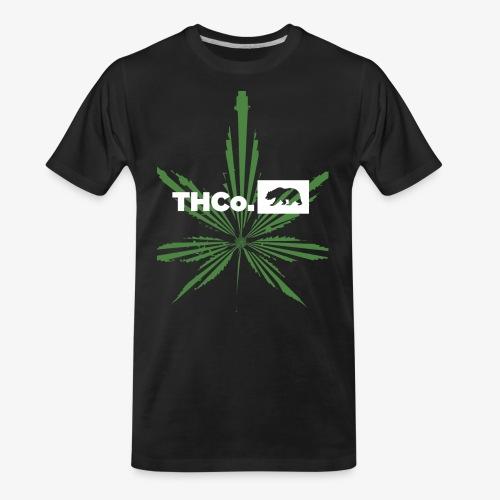 leaf logo shirt - Men's Premium Organic T-Shirt