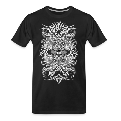 E.V. II - White - Men's Premium Organic T-Shirt