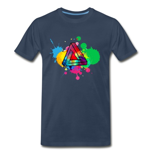 PAINT SPLASH - Men's Premium Organic T-Shirt