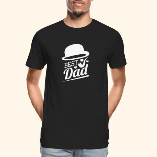 BEST DAD - Men's Premium Organic T-Shirt