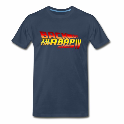 Back To The ABAP - Men's Premium Organic T-Shirt