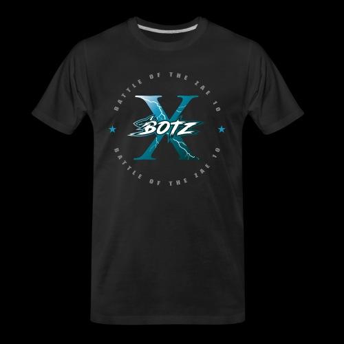 BOTZ X Circle Logo - Men's Premium Organic T-Shirt