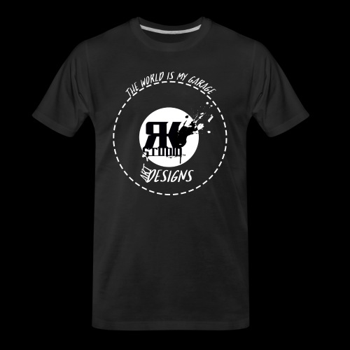 The World is My Garage - Men's Premium Organic T-Shirt