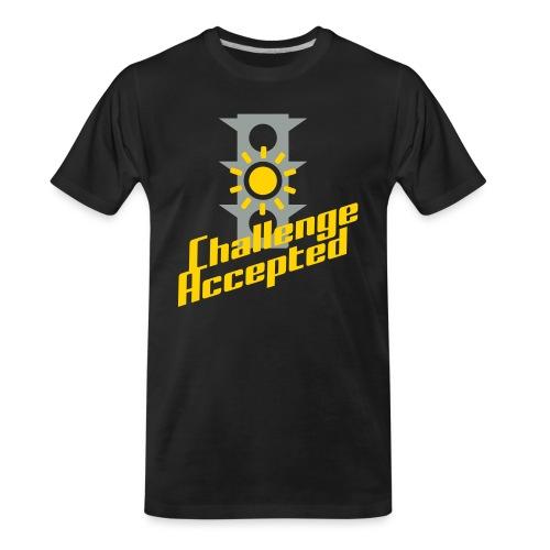 Challenge Accepted - Men's Premium Organic T-Shirt