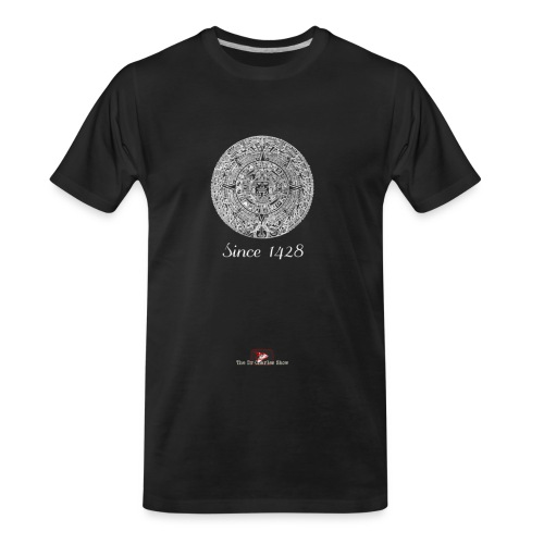 Since 1428 Aztec Design! - Men's Premium Organic T-Shirt