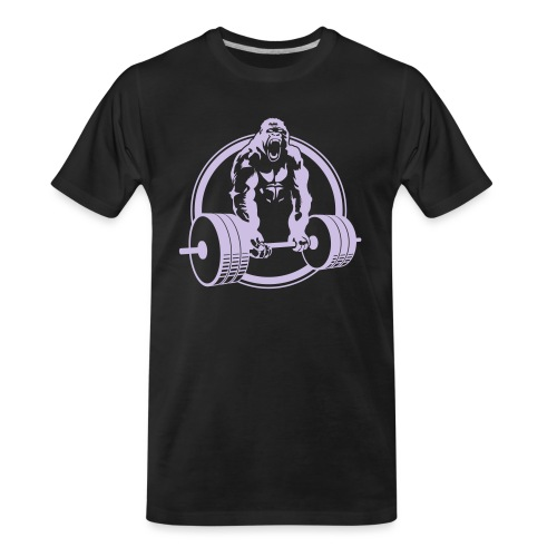 Gorilla Lifting Fitness - Men's Premium Organic T-Shirt