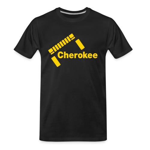 Slanted Cherokee - Men's Premium Organic T-Shirt