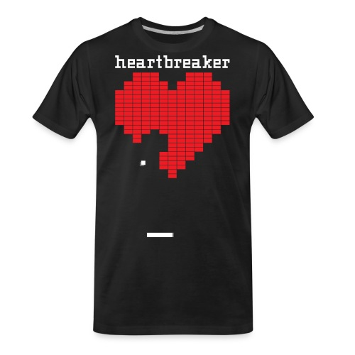 Heartbreaker Valentine's Day Game Valentine Heart - Men's Premium Organic T-Shirt
