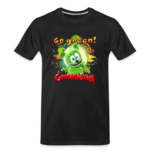 Gummibär Go Green Earth Day Trees - Men's Premium Organic T-Shirt